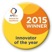 APSCo Award for Innovator of the year 2015