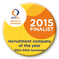 Recruitment company of the year 5-0m turnover Logo PNG