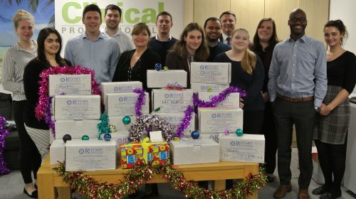 Clinical Professionals Rotary Box Donation