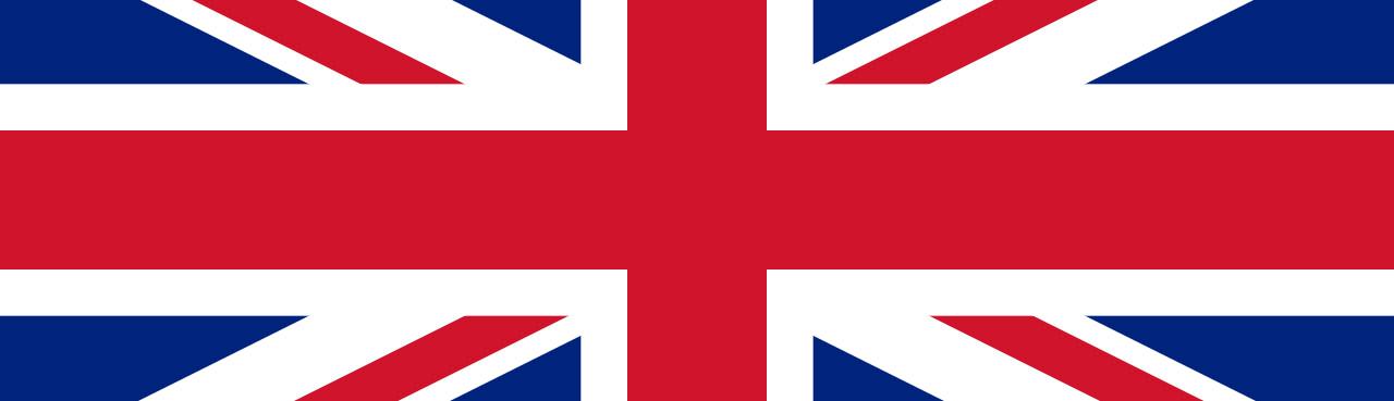 British flag header