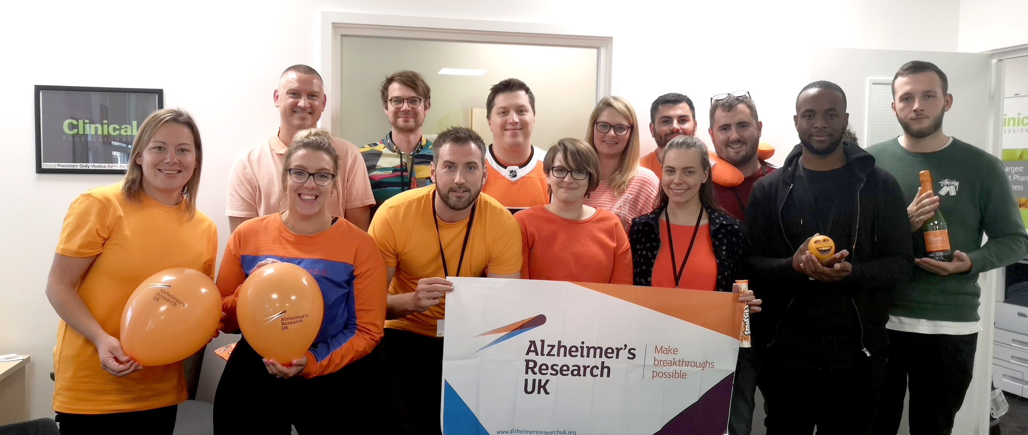 Clinical Professionals ARUK partnership launch